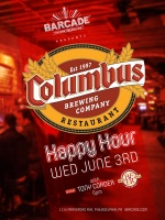 Columbus Brewing Company Happy Hour — June 3rd, 2015