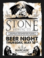 Stone Brewing Night — May 16, 2013