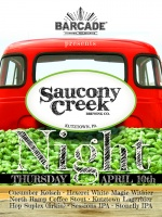 Saucony Creek Brewery Co. Night — April 10, 2014