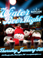 Winter Beer Night — January 5, 2012