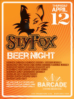 SlyFox Night — April 12, 2012