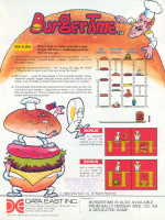 Burger Time — 1982 at Barcade® in Philadelphia, PA | arcade video game