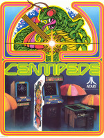 Centipede — 1981 at Barcade® in Philadelphia, PA | arcade video game