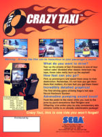 Crazy Taxi — 1999 at Barcade® in Philadelphia, PA
