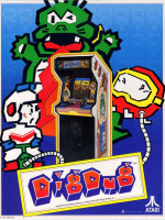 Dig Dug — 1982 at Barcade® in Philadelphia, PA | arcade video game