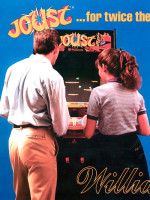 Joust — 1982 at Barcade® in Philadelphia, PA | arcade video game