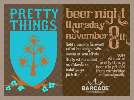 Pretty Things Night — November 8, 2012