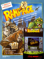 Rampage — 1986 at Barcade® in Philadelphia, PA | arcade video game