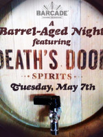 Death's Door Spirits (A Barrel-Aged Night)— May 7, 2013 at Barcade® in Philadelphia, PA