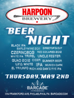 Harpoon Brewery Night — May 2, 2013