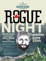 Rogue Night — June 25, 2013 at Barcade® in Philadelphia, PA