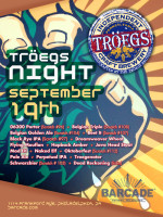 Tröegs Brewing Night — September 19, 2013 at Barcade® in Philadelphia, PA