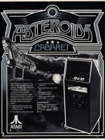Asteroids — 1979 (Cabaret) at Barcade® in Philadelphia, PA | arcade video game