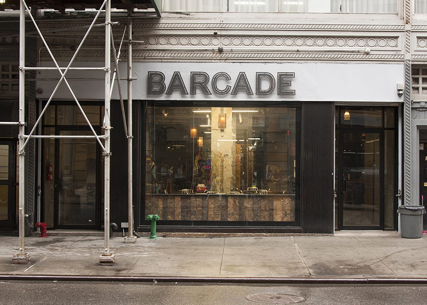 Barcade - New York exterior