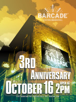 Barcade 3rd Anniversary — October 16, 2014 at Barcade® in Philadelphia, PA