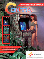 Contra — 1987 at Barcade® in Philadelphia, PA | arcade video game