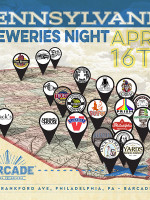 Pennsylvania Breweries Night — April 16th, 2015 at Barcade® in Philadelphia, PA