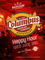 Columbus Brewing Company Happy Hour — June 3rd, 2015 at Barcade® in Philadelphia, PA during Philadelphia Beer Week