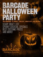 Barcade Halloween Party! on Saturday, October 31st at Barcade® in Philadelphia, PA