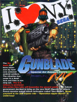 Gunblade NY — 1996 at Barcade® in Philadelphia, PA | arcade video game