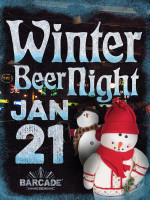 Winter Beer Night — January 21, 2016 at Barcade® in Philadelphia, PA