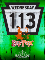 Sly Fox Brewing RTE 113 Day — January 13, 2016 at Barcade® in Philadelphia, PA