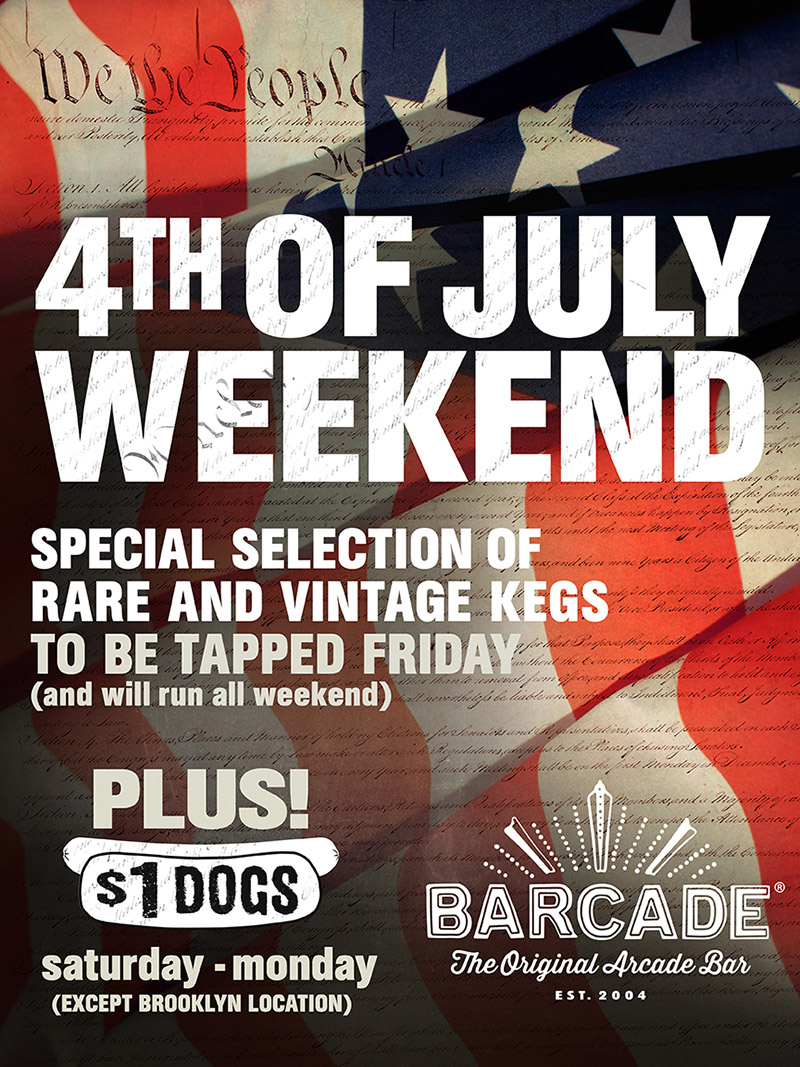 4th of July Weekend Celebration!!!