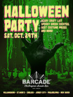 Barcade Halloween Party — October 29, 2016 at Barcade® in Philadelphia, PA