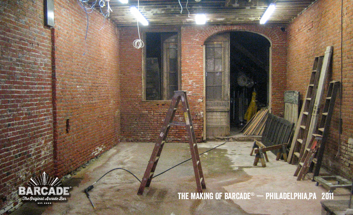 Making Of Barcade in Philadelphia, PA  - photo link to Flickr Gallery