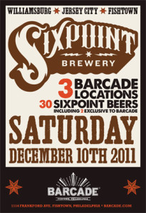 Barcade   Sixpoint Beer Project!!