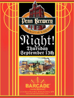 Penn Brewery Night — September 13, 2012