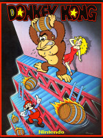 Donkey Kong — 1981 at Barcade® in Philadelphia, PA | arcade video game