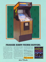 Frogger — 1981 at Barcade® in Philadelphia, PA | arcade video game