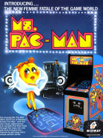 Ms. Pac-Man —1981 at Barcade® in Philadelphia, PA | arcade video game