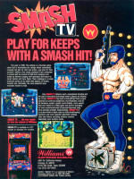 Smash T.V. — 1990 at Barcade® in Philadelphia, PA | arcade video game