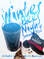 Winter Beer Night — January 31, 2013