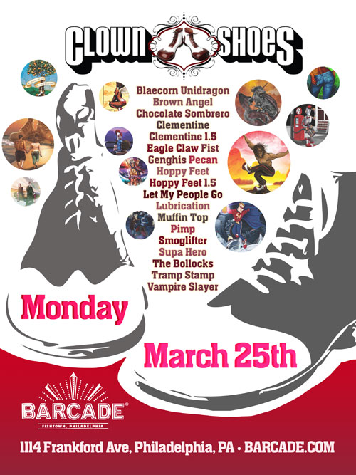 Clown Shoes Night — March 25, 2013