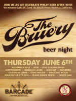 Bruery Night — June 6, 2013 at Barcade® in Philadelphia, PA