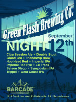 Green Flash Brewing Night — September 12, 2013 at Barcade® in Philadelphia, PA