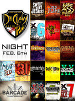 DuClaw Brewing Night — February 6, 2014 at Barcade® in Philadelphia, PA