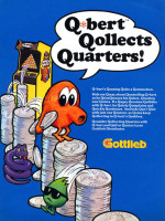 Q*Bert — 1982 at Barcade® in Philadelphia, PA | arcade video game