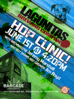 Lagunitas Brewing Company Hop Clinic — June 1, 2015 at Barcade® in Philadelphia, PA during Philly Beer Week