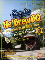 Shmaltz Brewing Company He'BrewBQ — Sunday, May 31st, 2015 at Barcade® in Philadelphia, PA during Philadelphia Beer Week