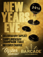 Barcade New Year's Eve Party — December 31, 2015 at Barcade® in Philadelphia, PA