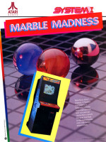 Marble Madness — 1984 at Barcade® in Philadelphia, PA | arcade video game