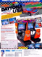 Daytona USA (Twin) — 1994 at Barcade® in Philadelphia, PA | arcade video game