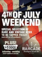 Barcade 4th Of July Weekend Specials at Barcade® in Philadelphia, PA
