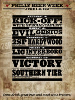 Barcade - Philly Beer Week 2017 Events featuring Evil Genius Beer Company, 2SP Brewing Co., Hardywood Park Craft Brewery, LIC Beer Project, Interboro Spirit and Ales, Victory Brewing Company, Southern Tier Brewing Company