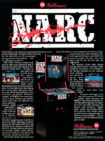 NARC — 1988 at Barcade® in Philadelphia, PA | arcade video game