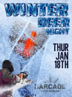 Winter Beer Night — January 18, 2018 at Barcade® in Philadelphia, PA